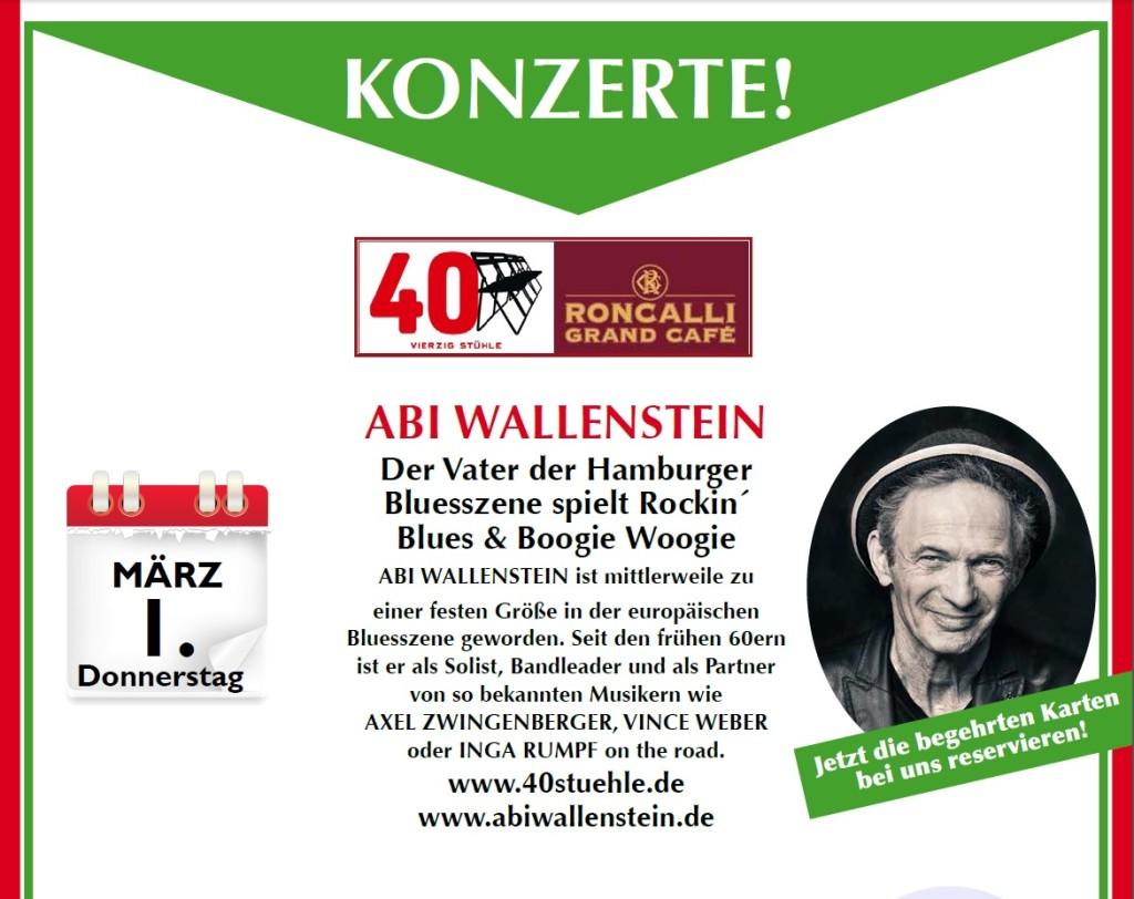Konzert ABI Wallenstein